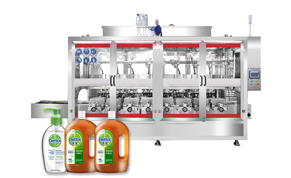 Aumotic Liquid Soap Production Line